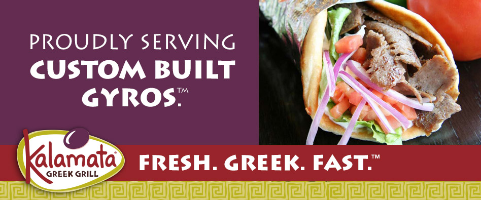 Prodly Serving Custom Built Gyros